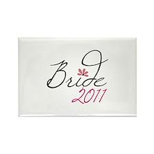 Bride 2011 Magnets