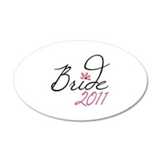 Bride 2011 Wall Decal