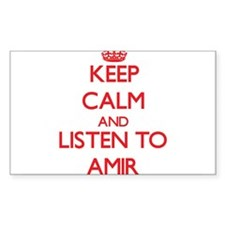 Keep Calm and Listen to Amir Decal
