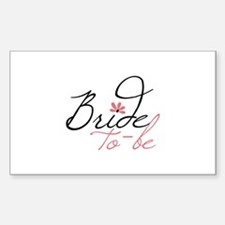 Bride to - be Decal
