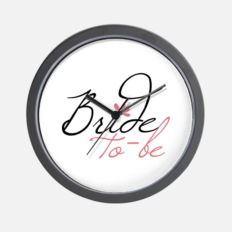 Bride to - be Wall Clock