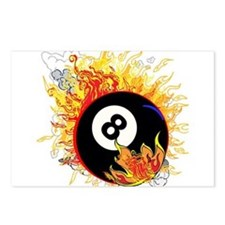 Fiery Eight Ball Postcards (Package of 8)