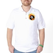 Fiery Eight Ball T-Shirt