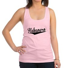 Habanero, Retro, Racerback Tank Top
