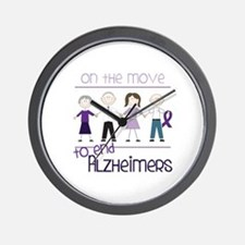 ON THE MOVE TO END ALZHEIMERS Wall Clock