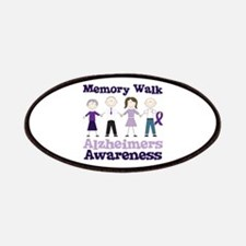 Memory Walk ALZHEIMERS AWARENESS Patches
