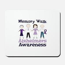 Memory Walk ALZHEIMERS AWARENESS Mousepad