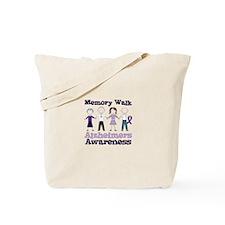 Memory Walk ALZHEIMERS AWARENESS Tote Bag