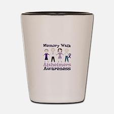 Memory Walk ALZHEIMERS AWARENESS Shot Glass