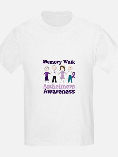 Memory Walk ALZHEIMERS AWARENESS T-Shirt