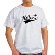 Halbert, Retro, T-Shirt