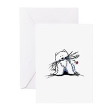 Spitz Cutiepie Greeting Cards (Pk of 20)