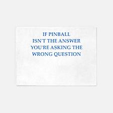 pinball 5'x7'Area Rug