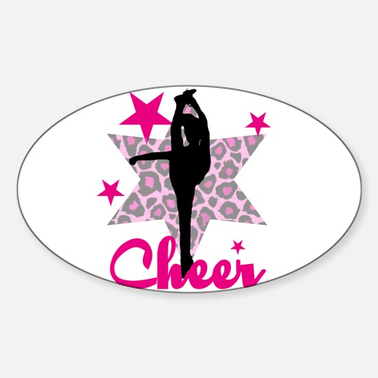 Pink Cheerleader Decal