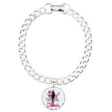 Pink Cheerleader Bracelet