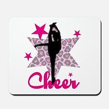 Pink Cheerleader Mousepad