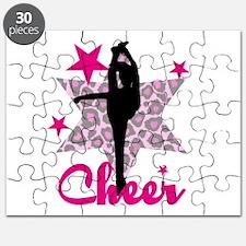 Pink Cheerleader Puzzle