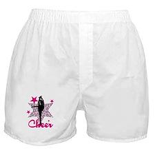 Pink Cheerleader Boxer Shorts