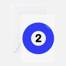 Two Ball Greeting Cards