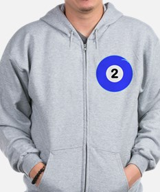 Two Ball Zip Hoodie