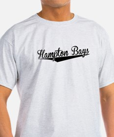Hampton Bays, Retro, T-Shirt