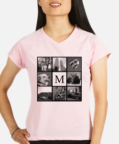 Monogrammed Photo Block Performance Dry T-Shirt