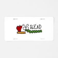 READ Aluminum License Plate