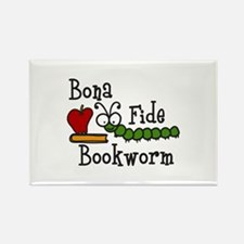 Bonafide Bookworm Magnets