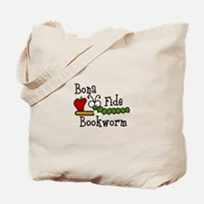 Bonafide Bookworm Tote Bag
