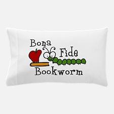 Bonafide Bookworm Pillow Case