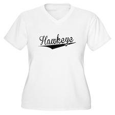 Hawkeye, Retro, Plus Size T-Shirt