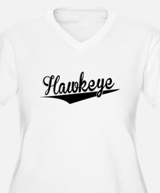 Hawkeye, Retro, Plus Size T-Shirt