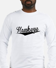 Hawkeye, Retro, Long Sleeve T-Shirt