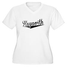 Hayworth, Retro, Plus Size T-Shirt