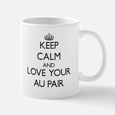 Keep Calm and Love your Au Pair Mugs