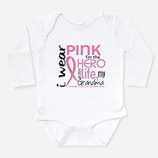 Hero In Life 2 Breast Cancer Infant Bodysuit Body
