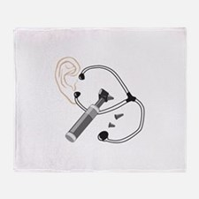 Audiology Throw Blanket