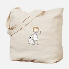 female audiologist Tote Bag