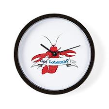 Got Lobstah? Wall Clock
