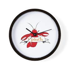 i pinch Wall Clock