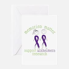 Memories Matter Support Alzheimers Research Greeti