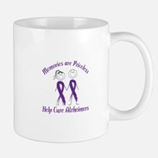 Memories are Priceless Help Cure Alzheimers Mugs
