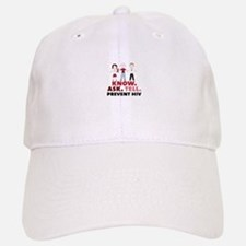 Know.Ask.Tell.Prevent HIV Baseball Hat