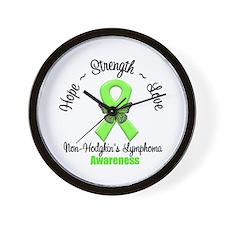 Non-Hodgkin's Lymphoma Wall Clock