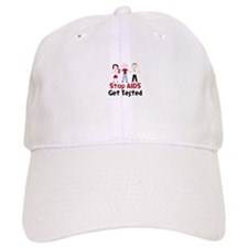 Stop Aids Get Tested Baseball Hat