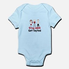 Stop Aids Get Tested Body Suit