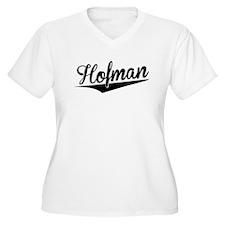 Hofman, Retro, Plus Size T-Shirt