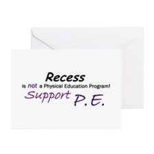 Recess is not ... Greeting Cards (Pk of 10)