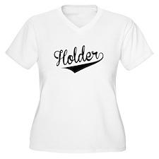 Holder, Retro, Plus Size T-Shirt
