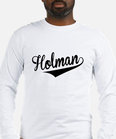 Holman, Retro, Long Sleeve T-Shirt